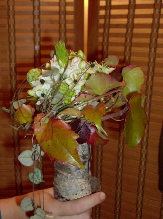 "CLAIRE bouquet ""forestier"" 50.-"