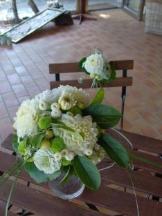 Bouquet Gaëlle et déco poussette