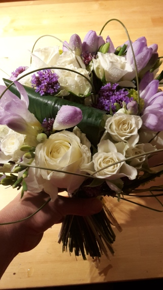 Bouquet mauve