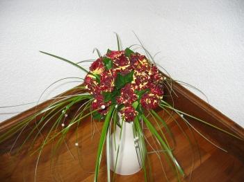 Bqt Séverine avec roses Ocus Pocus