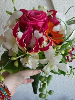 Gros plan bouquet Elodie