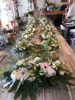 Arr de table mariage