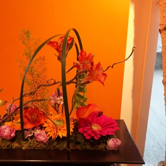 """""""Comme un jardin"""" orange"""