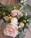 Rose délicat détail bqt